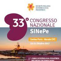 ABSTRAT 33 CONGRESSSO sinEpE – Società italiana di nefrologia pediatrica