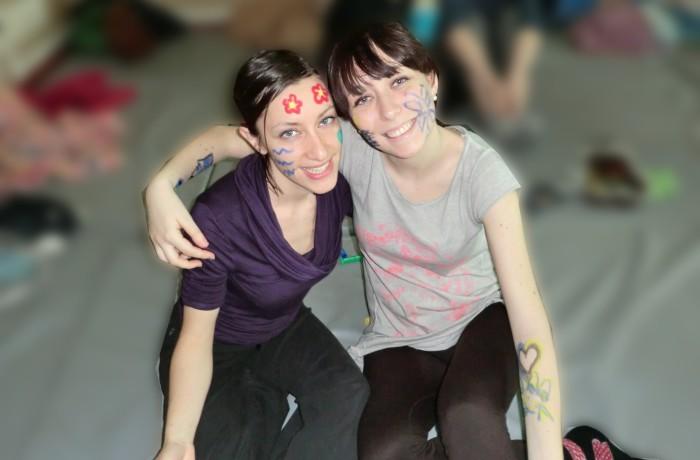 Le ragazze dipinte